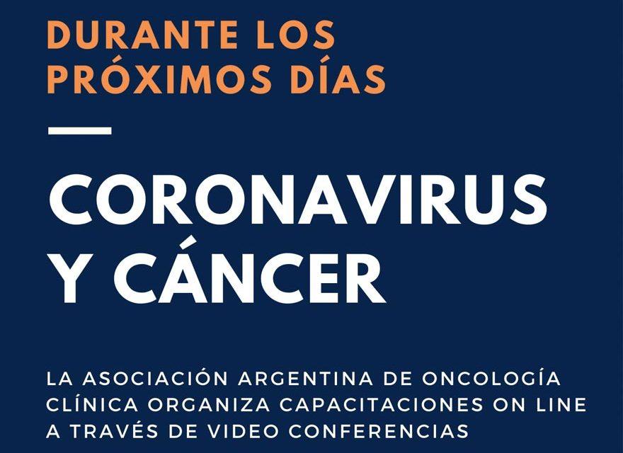 Coronavirus y cáncer: Capacitaciones