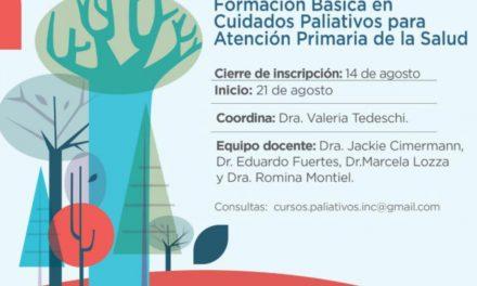 Formación Básica en Cuidados Paliativos para Atención Primaria de la Salud