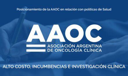 Posicionamiento de la AAOC en relación con políticas de Salud