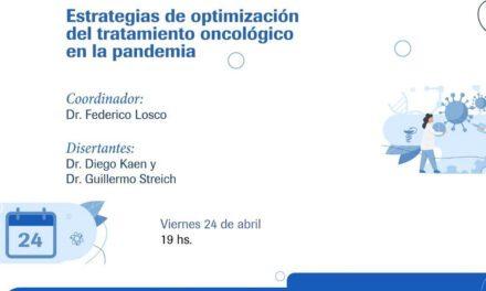 Estrategias de optimización del tratamiento oncológico en el marco de la pandemia