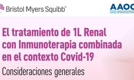 Tratamiento de 1L Renal  con Inmunoterapia combinada en el contexto Covid-19