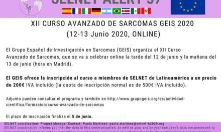 XII Curso Avanzado de Sarcomas GEIS 2020