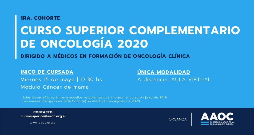 Curso superior complementario de Oncología 2020