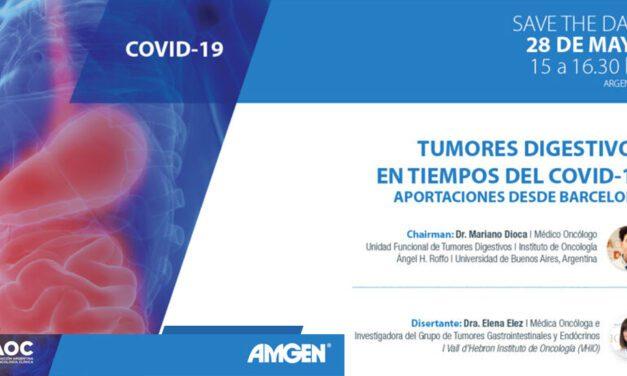Tumores Digestivos en Tiempos del Covid-19