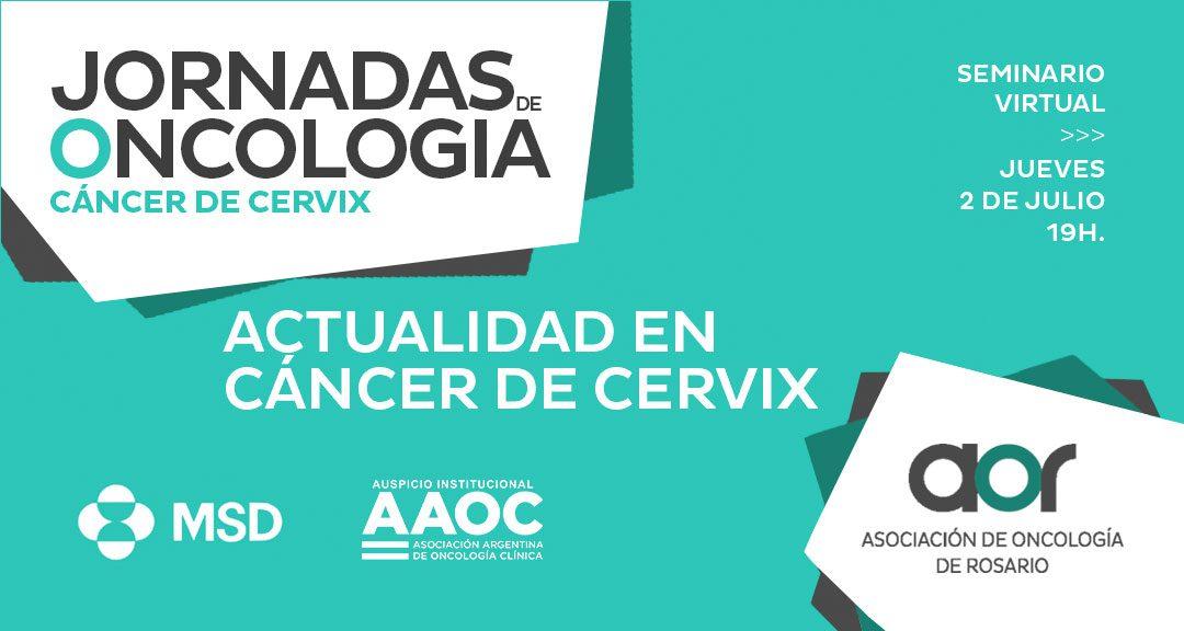 Jornadas de Oncología de Rosario: Cáncer de Cérvix