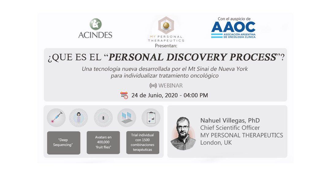 """¿Qué es el """"Personal Discovery Process""""?"""