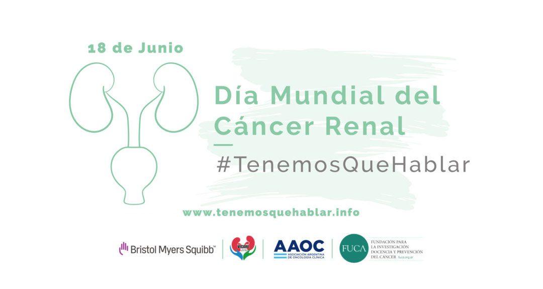 18 de junio: Día Mundial del Cáncer Renal