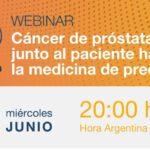 Webinar: «Cáncer de Próstata: Junto al paciente hacia la medicina de precisión»