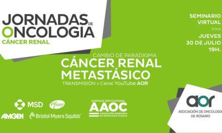 Jornadas de Oncología de Rosario: Cáncer Renal