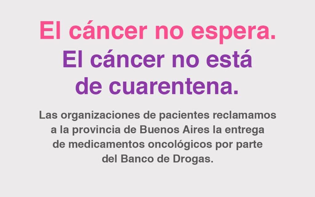 """Organizaciones de Pacientes: """"El Cáncer No Está en Cuarentena"""""""