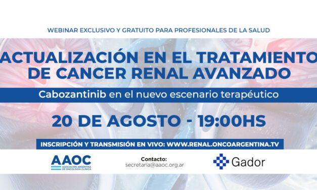 «Actualización en el tratamiento del cáncer renal avanzado»