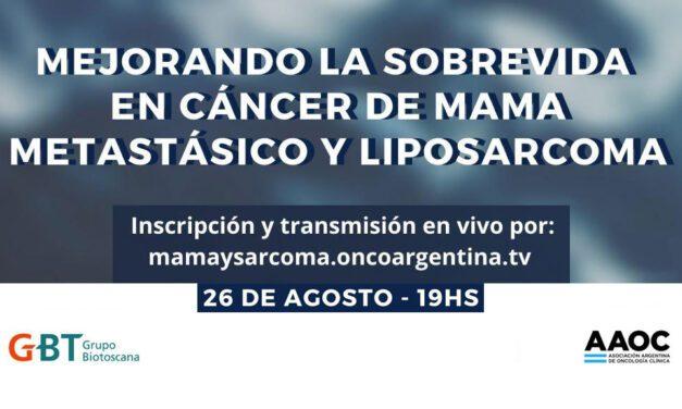 «Mejorando la Sobrevida en Cáncer de Mama Metastásico y Liposarcoma»