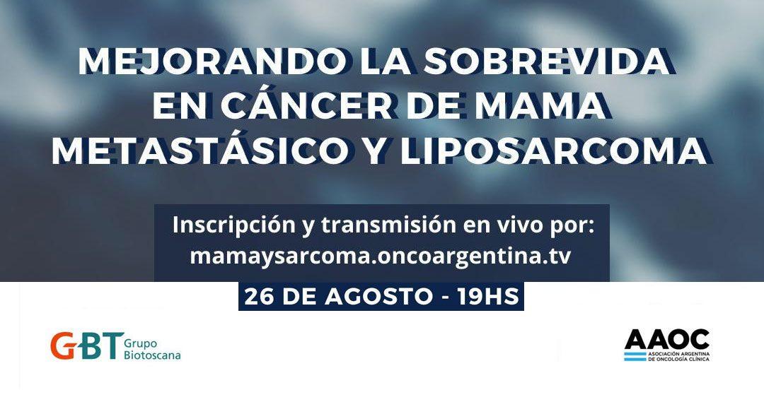 """""""Mejorando la Sobrevida en Cáncer de Mama Metastásico y Liposarcoma"""""""
