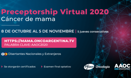 Preceptorship Virtual 2020 Cáncer de Mama