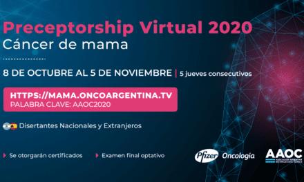Preceptorship Virtual 2020 Cáncer de Mama