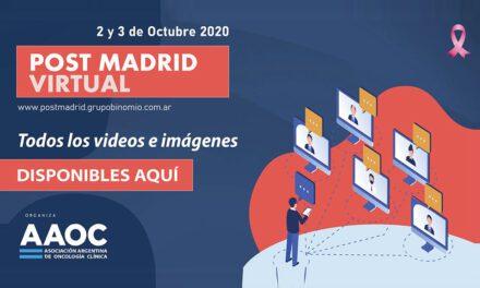 Videos e imágenes de Post Madrid Virtual 2020