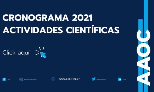 Actividades Científicas 2021