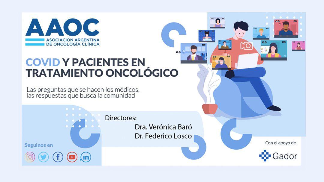 Ciclo online «COVID y Pacientes en Tratamiento Oncológico»