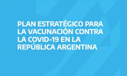 COVID-19: Plan Estratégico Ministerio de Salud de la Nación y Recomendaciones Vacunación de AAOC
