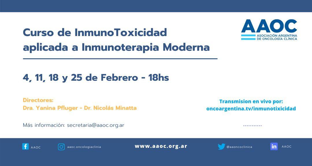Preceptorship Inmunotoxicidad – febrero 2021