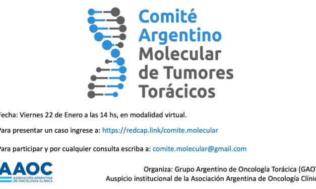 Comité Argentino Molecular de Tumores Torácicos