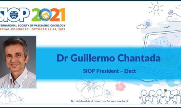 Dr. Guillermo Chantada, presidente electo de la Sociedad Internacional de Oncología Pediátrica