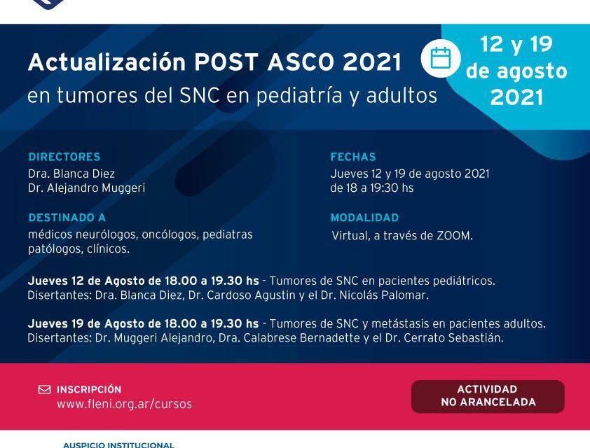 Actualización en Tumores SNC en pediatría y adultos