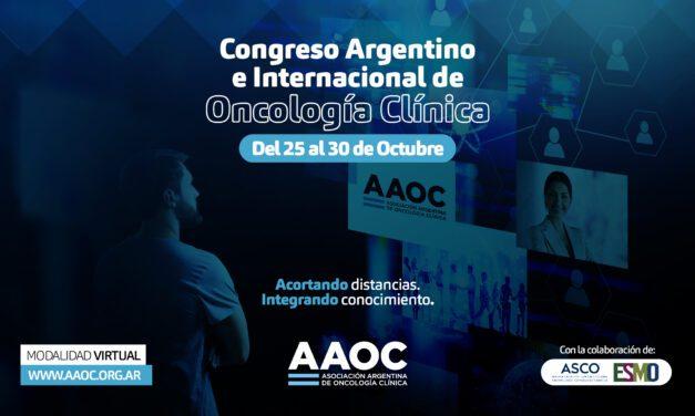 XXV Congreso Argentino e Internacional de Oncología Clínica